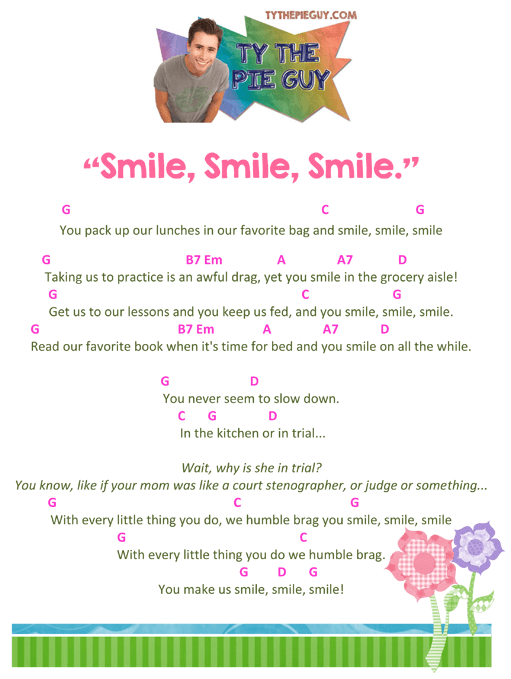 smilesmilesmilechords
